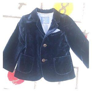 Zara kids velvet jacket
